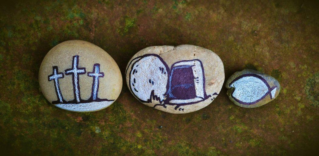 Symbolische Abbildung Auferstehung von Jesus