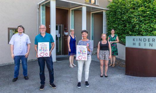 Kindergartenverein Vorstant mit Ehrenmitglieder