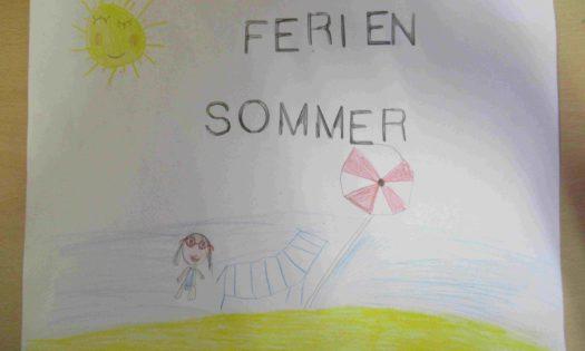 Sommerbild, Ferienbild