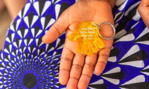 Schlüsselanhänger mit Psalm