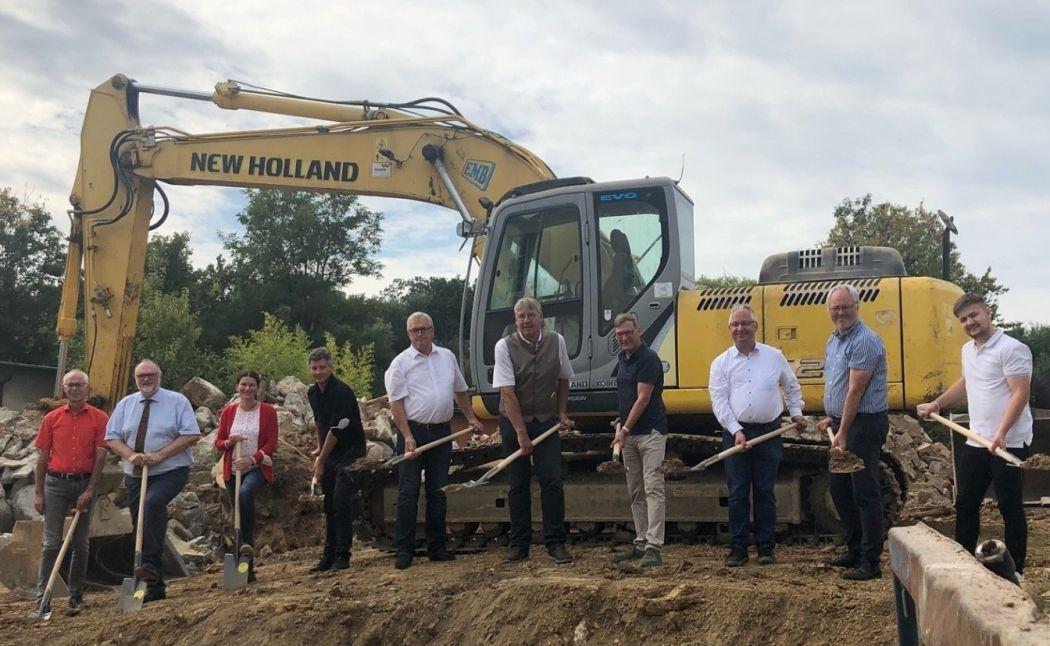Start der Bauarbeiten für den Neubau des Kinderhauses